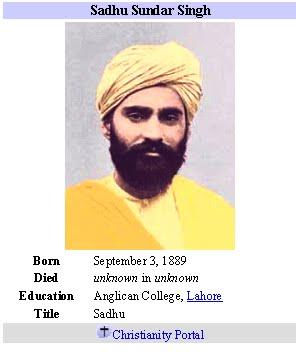 Sadhu Sunder Singh